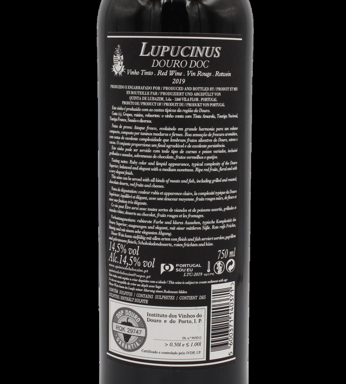 Lupucinus Tinto Red 2019